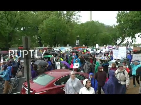 LIVE: March for science takes place in Washington DC