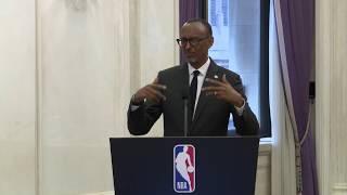 NBA Africa Forum | Remarks by President Kagame | New York, 24 September 2019