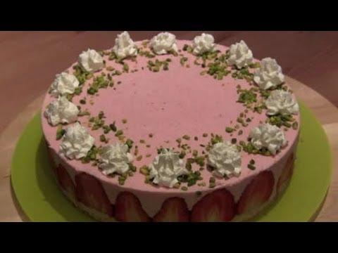 Tarta mousse de fresas f cil youtube - Mousse de fresa ...