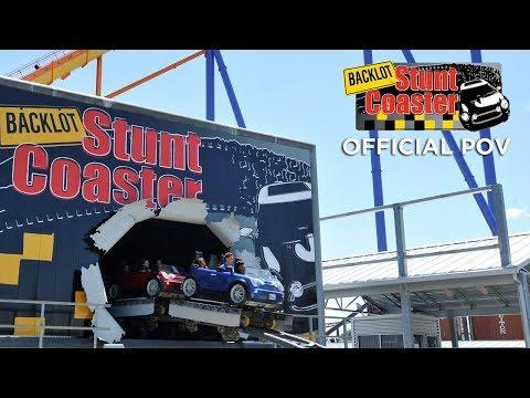 Official POV - Backlot Stunt Coaster - Canada's Wonderland