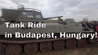 Trip to szentendre budapest and Tank Ride - Europe Trip episode 3