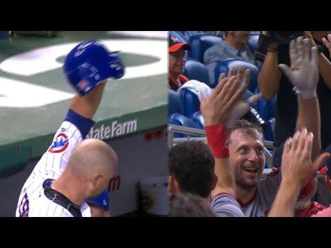 Side by side: Scherzer and Lester both homer