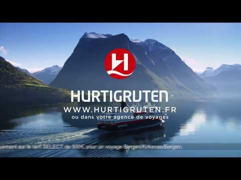 Vidéo Hurtigruten Croisières/ Ne visitez pas la Norvège Explorez la