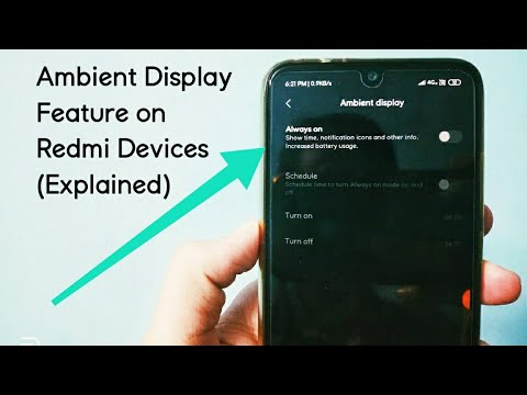 Ambient Display Feature