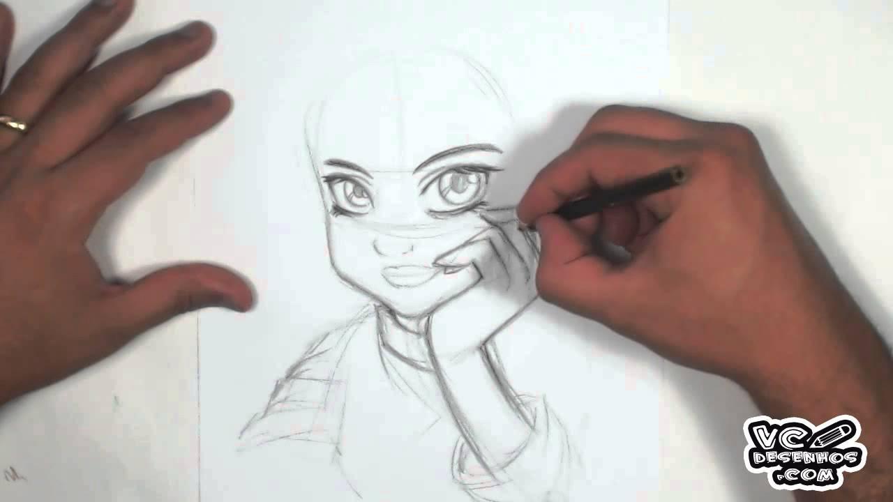 Aula De Manga Face Feminina How To Manga Face Girl Youtube