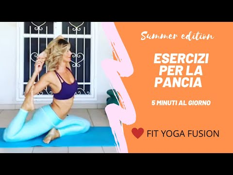 PANCIA PIATTA for Summer - 5 minuti FIT YOGA