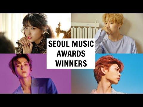 SEOUL MUSIC AWARDS 2019 WINNERS