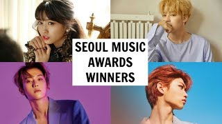 SEOUL MUSIC AWARDS 2019 WINNERS