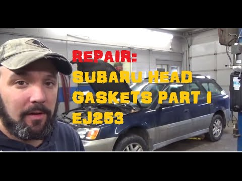 Replace Subaru Head Gasket EJ253 – Part 1 of 5