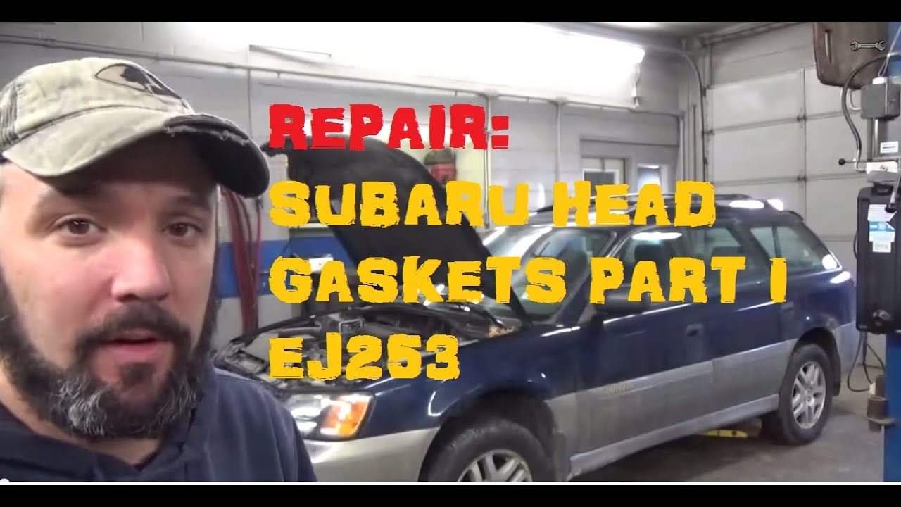 Replace Subaru Head Gasket Ej253 Part 1 Of 5 Youtube 1998 Outback