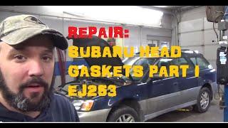Subaru 2.5 Head Gasket Replacement - 5 Part Series