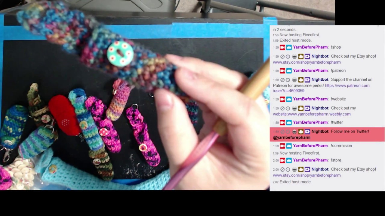 Chapstick Holders And Stethoscope Sleeves Crochet Youtube
