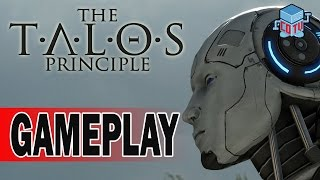 The Talos Principle Deluxe Edition PS4 Gameplay 01