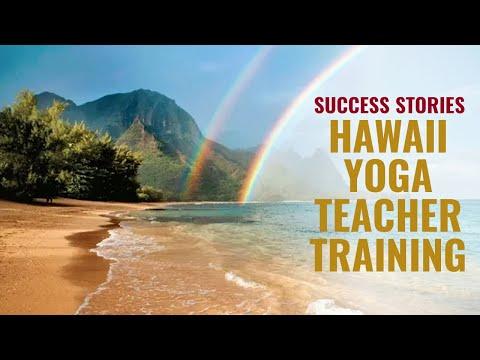 Hawaii Yoga Teacher Success Stories 2017
