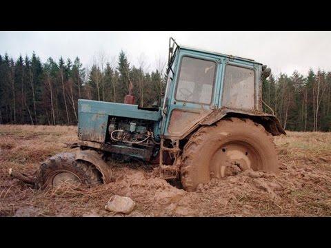 К700 Кировец Трактор - Супер! А Водила-Красавец! Смотреть