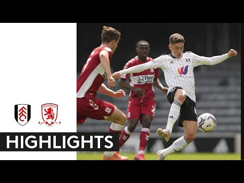 Fulham Middlesbrough Goals And Highlights