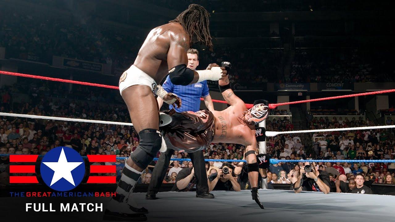 FULL MATCH – Rey Mysterio vs. King Booker – World Heavyweight Title Match: Great American Bash 2006