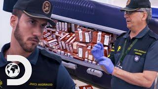 25 maletas sospechosas en la frontera | Control de fronteras: España | Discovery Latinoamérica