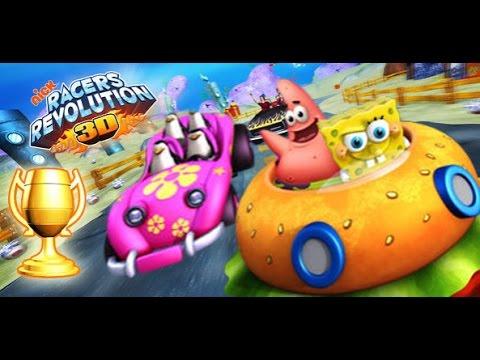 Spongebob Squarepants Racers Revolution 3D Game