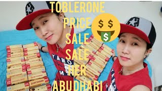 Toblerone Price Sale sale sale…