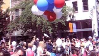 Bend Pet Parade - Floating Dog