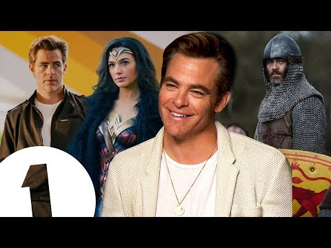 """I wasn't that surprised!"" Chris Pine on returning for Wonder Woman 2 & revealing all in Outlaw King"