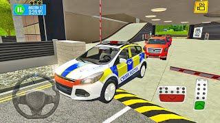 Ford Kuga Police SUV Driving-Multi Floor Parking Garage-Android 게임 플레이