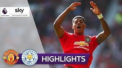 Matchwinner Rashford | Manchester United - Leicester City 1:0 | Highlights - Premier League 2019/20