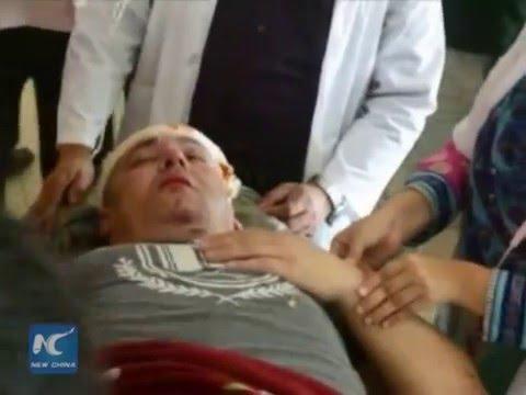 RAW:Russian pilot dead as cargo plane crashes into sea in Bangladesh