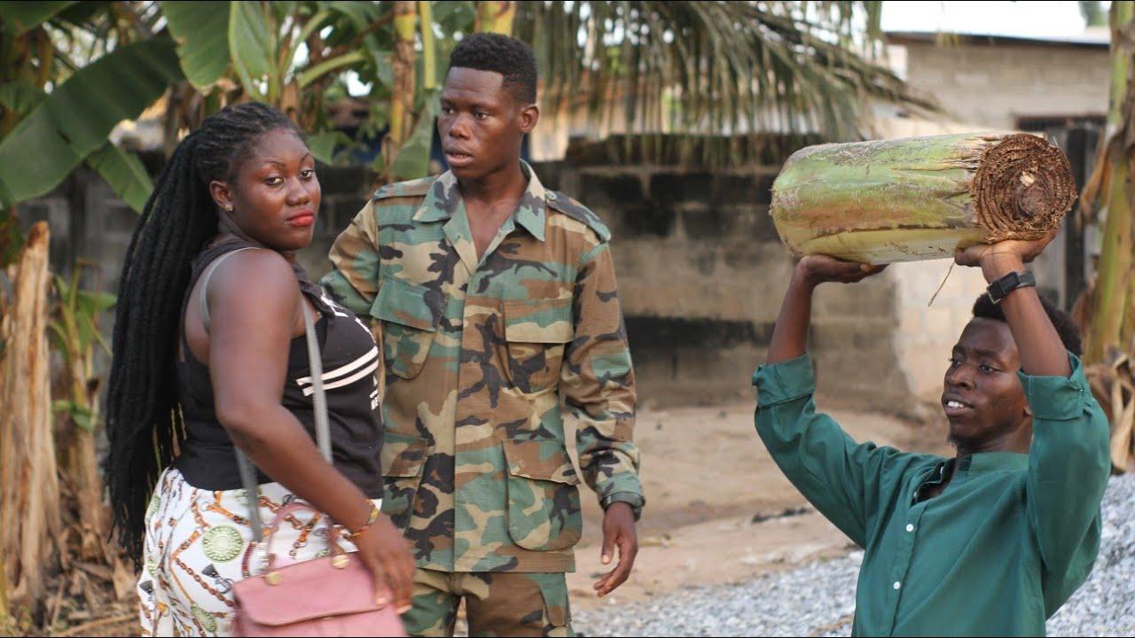 Download GHANA LOCKDOWN WAHALA 🤣🤣🤣 Atemuda Soldier Man....