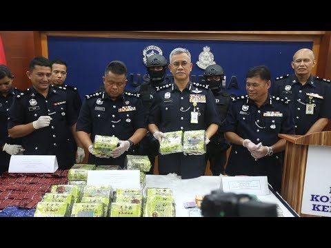 Drugs worth RM4.3 million seized in three raids in Kelantan