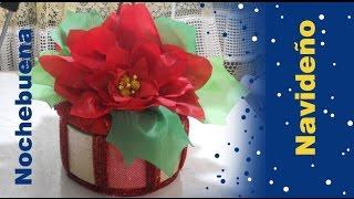 Como hacer Tortillero Navideño NOCHEBUENA Navidad Fiesta