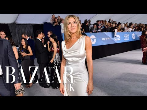 Jennifer Aniston Wore Vintage Dior To The SAG Awards