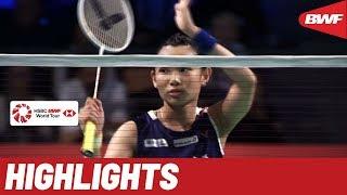 DANISA Denmark Open 2019 | Round of 16 WS Highlights | BWF 2019