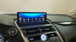 """Lexus NX 2017-2018 замена монитора 8"""" на 10.25"""" с ОС Андроид 7.1.2"""