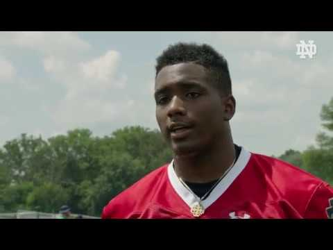 Exclusive 1-on-1 with Brandon Wimbush: August 2, 2017