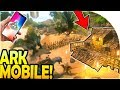 ARK SURVIVAL EVOLVED MOBILE - Starting Out + BASE BUILDING! ( ARK Survival Evolved Mobile Gameplay )