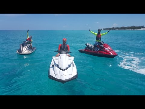 #700Nmiles, jetski / waverunner ride to Exuma, Bah
