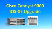 Cisco Catalyst Switches - Upgrade IOS image - YouTube