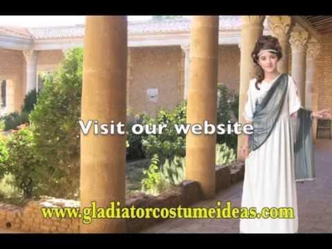 Roman Princess costume for girls