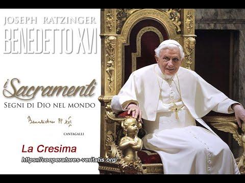 Benedetto XVI Spiega Che Cosa è La Cresima (imperdibile)
