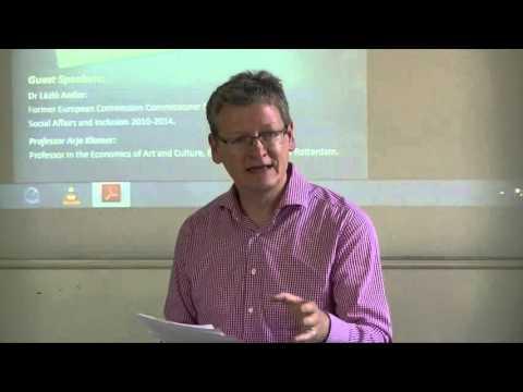 Professor Bill Mitchell Eurozone Dystopia Book Launch August 2015