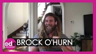 Brock O'Hurn talks gh๐sts on The Resort set!