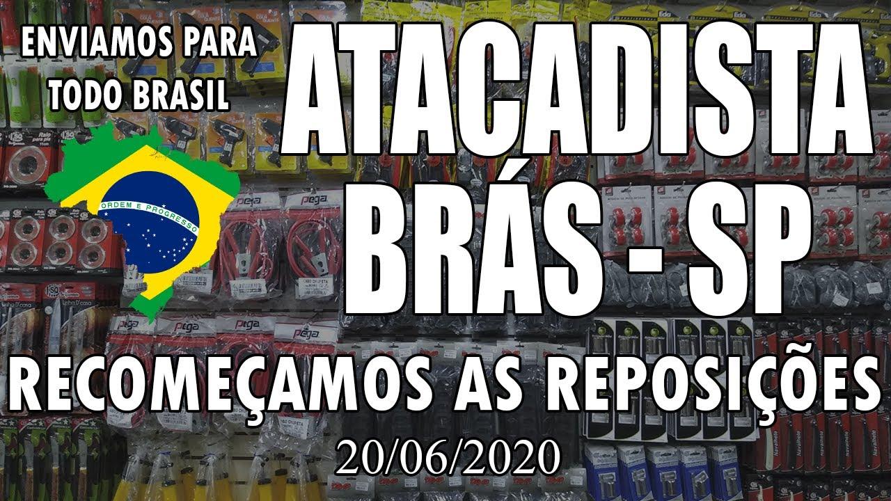 LOJA DE ATACADO - RECOMEÇAMOS AS REPOSIÇÕES