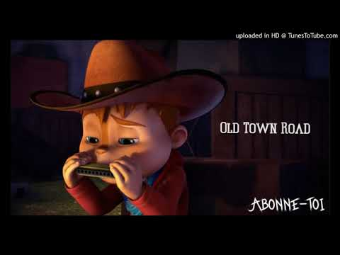 Lil Nas X - Old Town Road  ft. Billy Ray Cyrus Remix (Chipmunks)