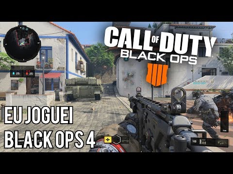 CALL OF DUTY BLACK OPS 4 - Eu Joguei! Impressões Sobre o Multiplayer! (PS4 Gameplay)