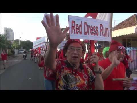 Lampung HHH - Red Dress Run 2016