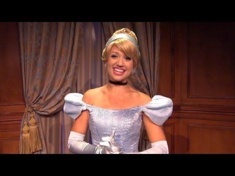 Princess Fairytale Hall Detailed Tour W/ Cinderella & Sleeping Beauty Meet & Greet, Magic Kingdom