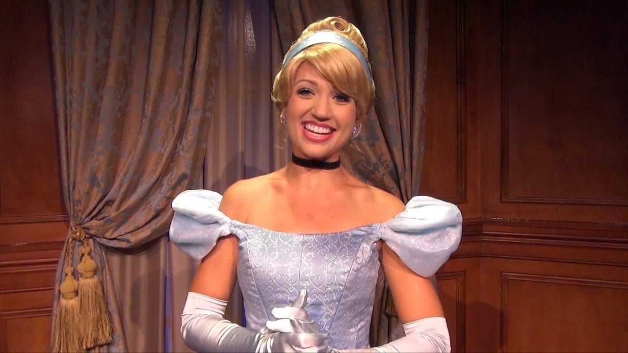 Princess Fairytale Hall Detailed Tour W Cinderella Sleeping