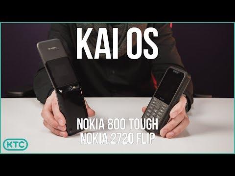 Nokia 800 Tough, Nokia 2720 Flip на KaiOS - обзор Review